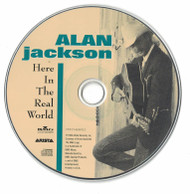Alan Jackson Here In The Real World 1990 CD Professionally Cleaned