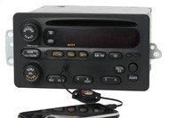 Oldsmobile Alero Intrigue 2002-2004 Radio AM FM CD Player w Aux Input - 10318437