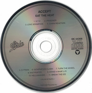 Accept Eat The Heat 1989 CD Professionally Cleaned