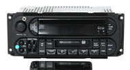 02-06 Chrysler Dodge Jeep Radio AMFM CD CS w Bluetooth Aux Input P05091605AC RAZ