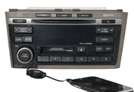 2002-2004 Infiniti I35 Bose Radio AM FM 6 Disc CD CS w Aux Input 2451D-B CR090