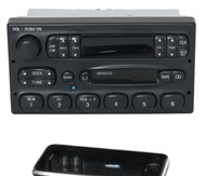 95-97 Ford Truck Explorer P100 Radio AM FM CS w Bluetooth Music F57F-19B165-AE