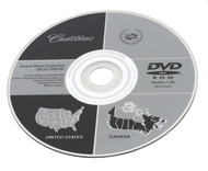 05-07 Cadillac Chevy Pontiac - US Canada Navigation DVD CD 10381281 Version 1.00