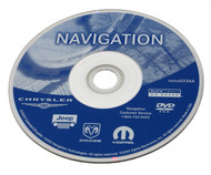 Chrysler Dodge Jeep 2002-2005 Navigation DVD Map of North America - 05064033AA