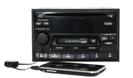 2000 Nissan Altima AM FM Radio CD Cassette Player w Aux Input 281880Z800 CN618