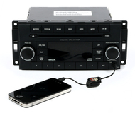 13-16 Dodge Avenger Jeep Patriot AM FM mp3 Sat Radio CD With Aux P05091163AA RES