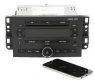 06-07 Chevrolet Aveo AM FM mp3 Radio CD Player Aux w Bluetooth - 96652403 - U3L