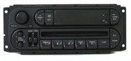 Chrysler Jeep Dodge 2002-07 Radio AM FM Single Disc CD Player RBK Slider Version