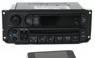 Chrysler Jeep Dodge 2002-2007 Radio AM FM CD Player w Bluetooth Music RBK Slider