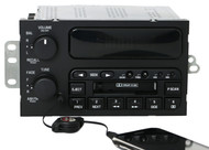 1997-2003 Buick Century AM FM Cassette Player w Auxiliary Input - 10303191