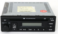 Hyundai Tucson 2005-2008 AM FM Radio mp3 Single Disc CD Player 96160-2E101