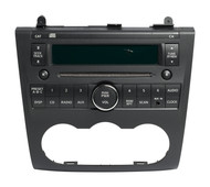 2007-09 Nissan Altima Radio AM FM Single CD Aux Input 28185JA000 Face PY13B