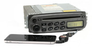 2000-2001 Hyundai Accent AM FM Radio Compact Disc w Aux on a Pigtail 96160-25300