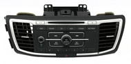 2013-2015 Honda Accord AM FM Radio Single Disc CD Player With Aux 39100-T2A-A220