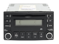 2007-2009 Kia Spectra Radio AM FM Single Disc CD Player 96150-2F700