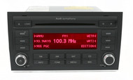 2006 2007 2008 Audi A4 AMFM OEM Radio 6 Disc CD Player 8E0035195AC Code Included