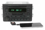 2001-2003 Hyundai XG Series AMFM Radio Single Disc CD Cassette w Aux 96140-39101
