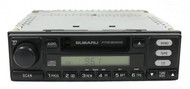 2000-02 Subaru Legacy Receiver AM FM Cassette Player 86201AE06A Face P119