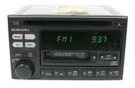 2000-02 Subaru Legacy AM FM Radio Cassette CD Player 86201AE12A Face Code P121