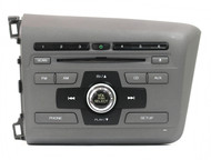 2012 Honda Civic OEM AM FM Single CD Radio 39100-TR0-A81 Face 4BCJ Code Included