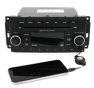 13-17 Dodge Challenger Jeep Patriot AM FM Radio CD Player w Aux P05091163AC RES