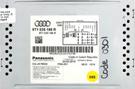 2010-2017 Audi S4 Q5 RS5 A4 SQ5 OEM AM FM Radio CD Player 8T1 035 186 R -Opt 8UQ