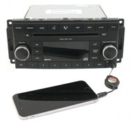 07-08 Dodge Avenger Chrysler Sebring AM FM Radio CD Player w Aux P05064058AJ RES