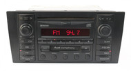 1999-2002 Audi A4 S4 AM FM Radio Single CD Cassette Receiver 8D0 035 195 A