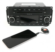 08-10 Chrysler 300 Dodge Charger Jeep AMFM Radio CD Player w Aux P68021161AD RES
