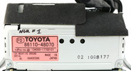2000-2003 Lexus RX300 Radio Information Display Screen Part Number 86110-48070