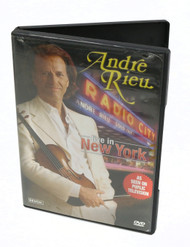 Andre Rieu Live In New York DVD 2007 Andre Rieu Productions
