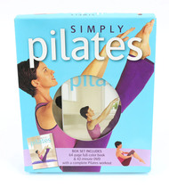 Simply Pilates Box Set  64 Page Color Book & 42 Min DVD 2007 Hinkler Books