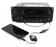 Chrysler Jeep Dodge RBK Digital 22-10 Radio 02-07 AM FM CD Bluetooth Pigtail Aux