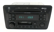 02-03 Infiniti QX4 Radio AM FM Cassette Single Disc CD Receiver 281885W600 CR050