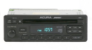 1997-1999 Acura CL Radio AM FM Single Disc CD Receiver 39100-SS8-A010 Face 1XK3