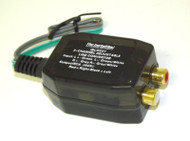 2 Channel Adjustable RCA Line Convertor Low to High Impedance Amplifier Adaptor