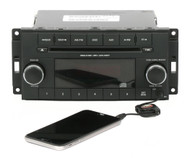 12-16 Chrysler Town & Country Dodge Caravan AM FM Radio CD w Aux P05091301AC RES