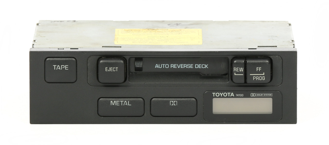 Toyota 1989 Camry Auto Reverse Deck Cassette Receiver Pn 0869000818 Rh1factoryradio: 1988 Toyota Tercel Radio Factory At Gmaili.net