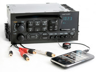 Chevy GMC 1995-2005 Truck and Van Radio AM FM CD Player w Aux Input & RCA Output