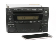 2004-06 Mazda MPV Radio AM FM Single Disc CD w Bluetooth Upgrade LE47669S0 4165