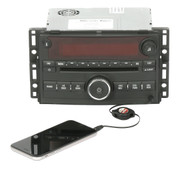 2006-07 Saturn Ion Vue AM FM Radio Single Disc CD Player w Aux Part 15790419 US8