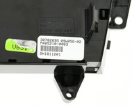 08 Volvo 60 Series Climate Controls Panel Part Number 30782695 Face Code HU-650