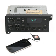 Chrysler 1992-2003 Jeep Dodge Eagle Plymouth AM FM Radio w Aux Input - P04858561