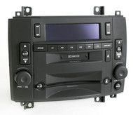 Cadillac CTS SRX 2003-07 Radio AM FM CD Cassette Player 25753338 U2R