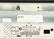 2001-2006 BMW X5 Temperature Control Panel OEM Part Number 65.82-6 914 610
