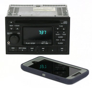 1998-1999 Nissan Altima Receiver AM FM CD w Aux Input PN2218IA Face CY516
