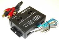 4 Channel Adjustable RCA Line Convertor Low to High Impedance Amplifier Adaptor