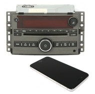 2007-2008 Saturn Aura AM FM Radio CD with Aux and Bluetooth Upgrade 15835877 US8