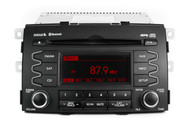 11-13 Kia OEM Sorrento AM FM Radio CD Player mp3 w satellite 96140-1U201CA