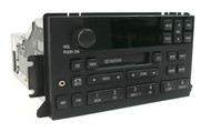 1995-1998 Lincoln Continental AM FM Radio Cassette with Aux Input F80F-18C870-BG